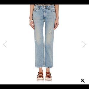 SIMON MILLER x BARNEYS straight leg jeans